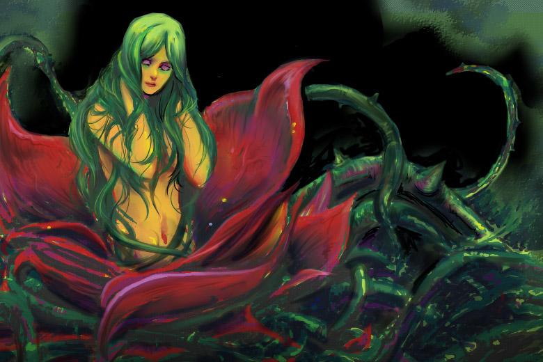 Растение мандрагора или ведьмин корень