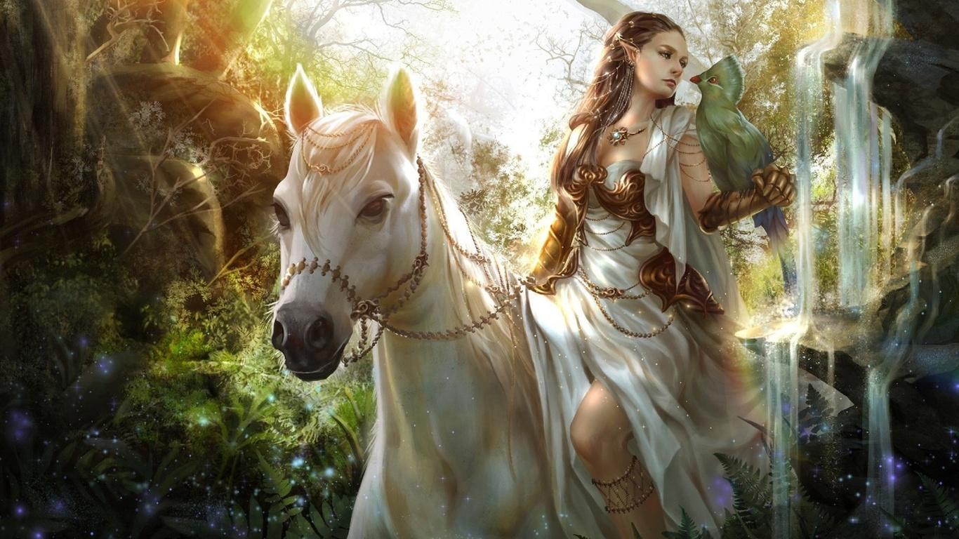 Рианнон — самая несчастная из богинь