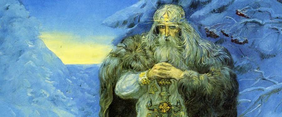 Сварог — славянский Бог огня, кузнечного дела