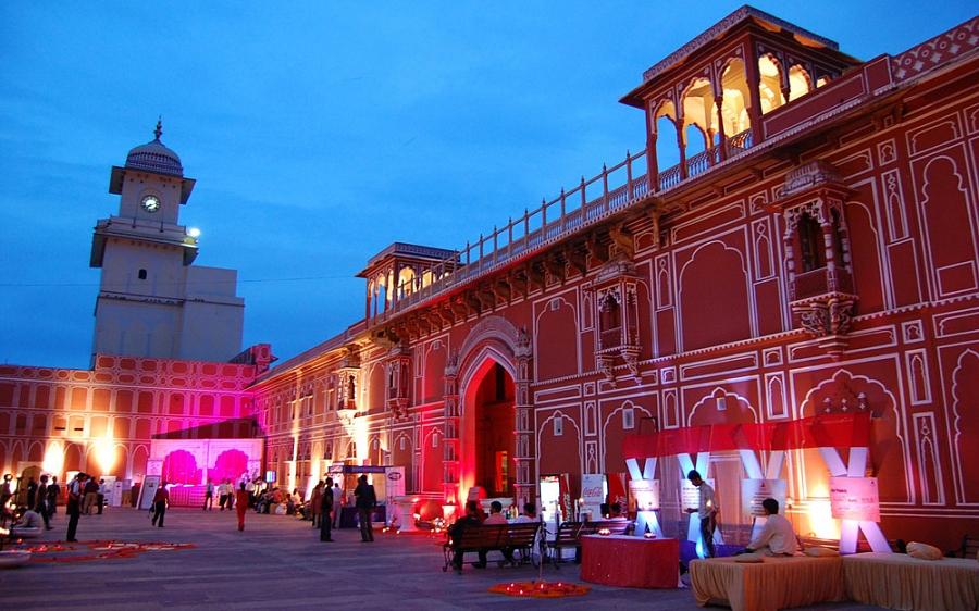 Город Джайпур. Индия
