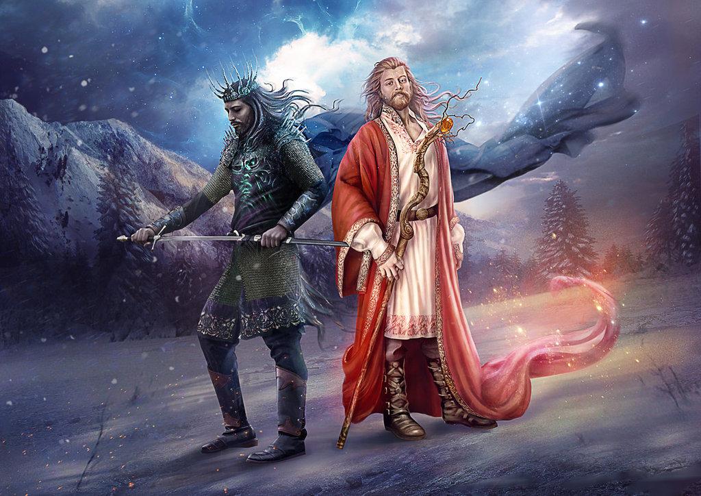 Белбог, сын Рода, бог Явного мира
