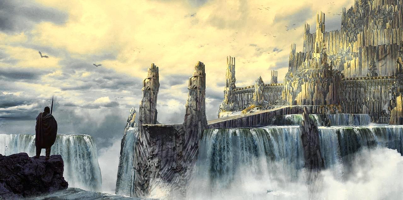 Вальхалла — скандинавский рай для погибших воинов