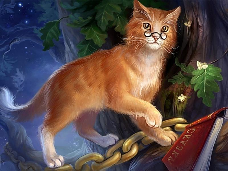 Кот-баюн в славянсокй мифологии