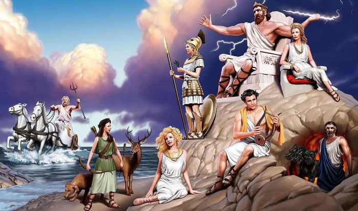 По следам древнегреческих богов. Часть первая: «Гора Олимп».