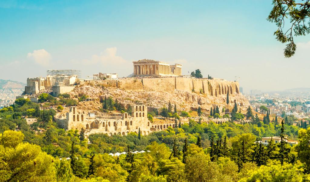 По следам древнегреческих богов. Афины