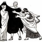 Адмет и его жена Алкестида
