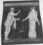 Амфиарай, участник Калидонской охоты, похода аргонавтов и «семерых против Фив»