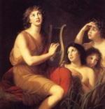 Амфион, сын Зевса и Антиопы, фиванский царь и прославленный музыкант