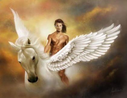Беллерофонт (Беллерофон), царь Ликии, хозяин летающего коня Пегаса