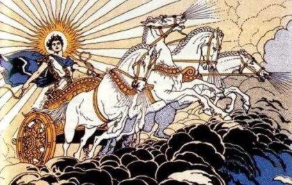 Гелиады, дети бога солнца Гелиоса