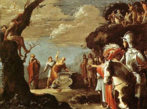 Леонард Брамер. Жертвоприношение Ифигении, 1623. Делфт