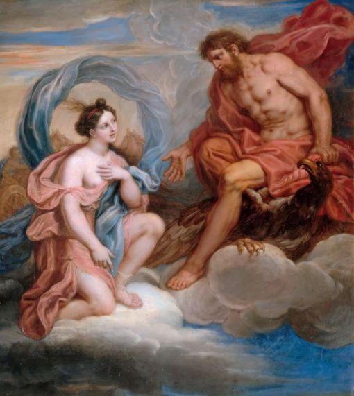 Мишель Корнель младший — Ирида и Юпитер