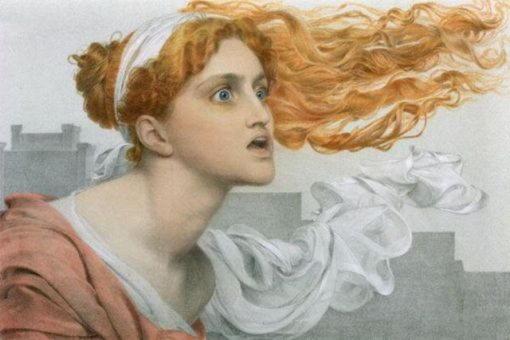 Кассандра, знаменитая троянская пророчица, которой никто не верил