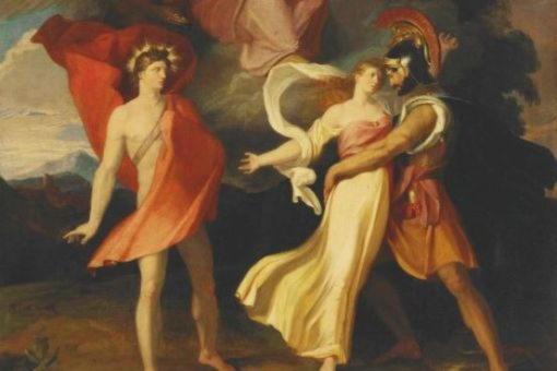 Марпесса, этолийская царевна, за которую сражались Аполлон и силач Идас