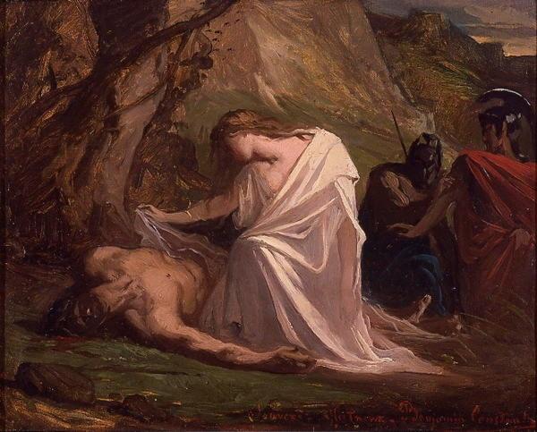 """Полиник, греч. — сын фиванского царя Эдипа и его матери и жены Иокасты, герой злополучного похода ''семерых против Фив"""""""