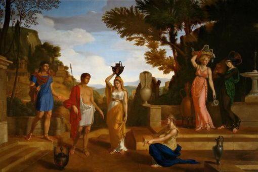 Эгисф, сын царя Фиеста, убивший Агамемнона