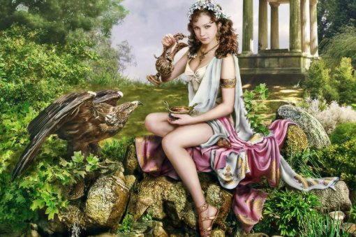Хлорида (Хлорис), пилосская царица, фиванская царевна и богиня-супруга Зефира