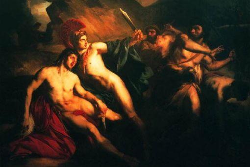 Хрисипп, сын царя Пелопа, убитый братьями
