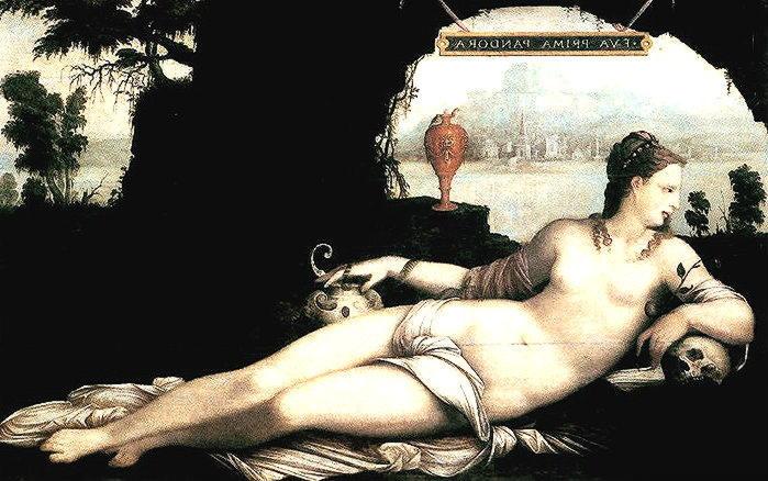 пандора первая женщина, созданная афиной и гефестом