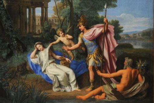 Рея Сильвия, дочь царя Альба-Лонги, мать Ромула и Рема
