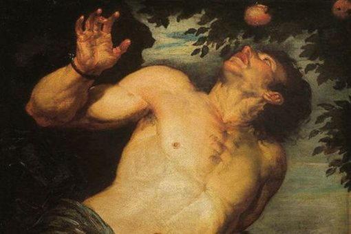 Тантал, царь Сипила, сын Зевса, наказанный богами за гордыню, надменность и дерзость