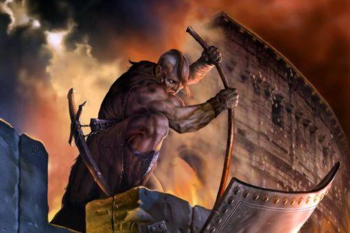 Тевкр, сын речного бога, тесть Дардана и основатель Саламина на Кипре