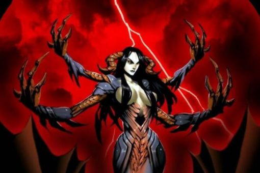 Эхидна (Ехидна), женщина-змея, дочь Тартара и Геи-Земли, мать чудовищ