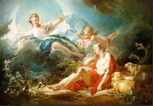 Эндимион, спящий юноша, возлюбленный богини Луны