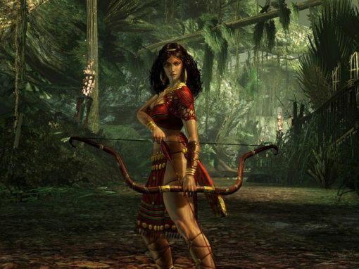 Ферония, богиня лесов и рабов, получивших свободу