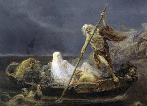 Харон, перевозчик душ мертвых, сын бога тьмы и богини ночи