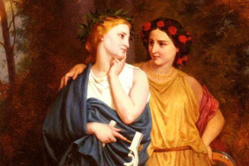 Филомела, сестра царицы Прокны, супруги вероломного Терея
