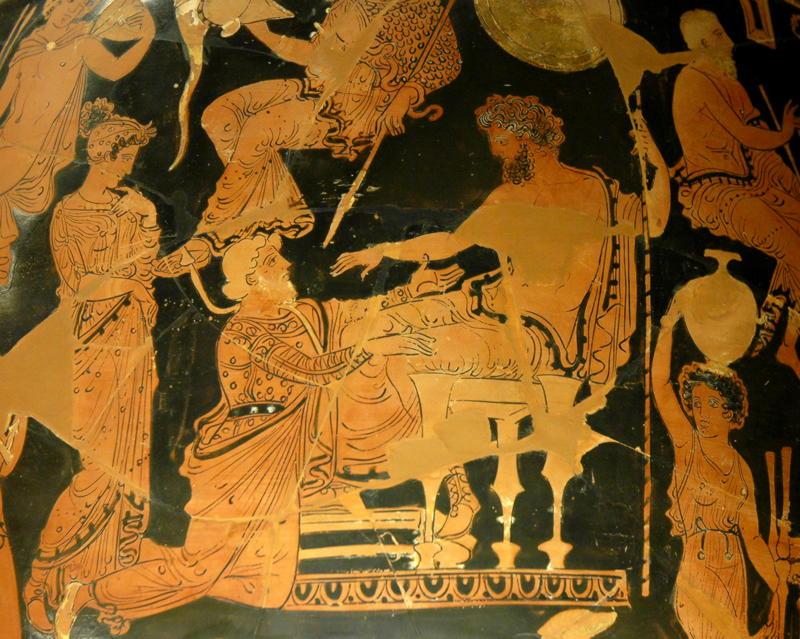 Навплий, греч. — сын Посейдона и дочери Даная Амимоны, эвбейский царь.
