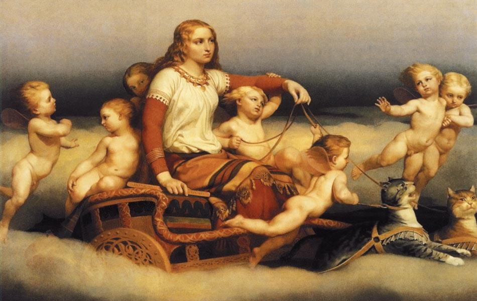 Фрейя-скандинавская богиня плодородия