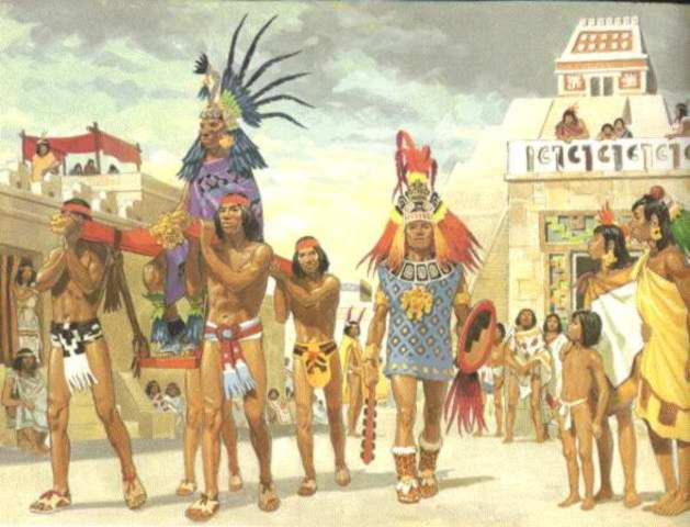 Aztec-emperor