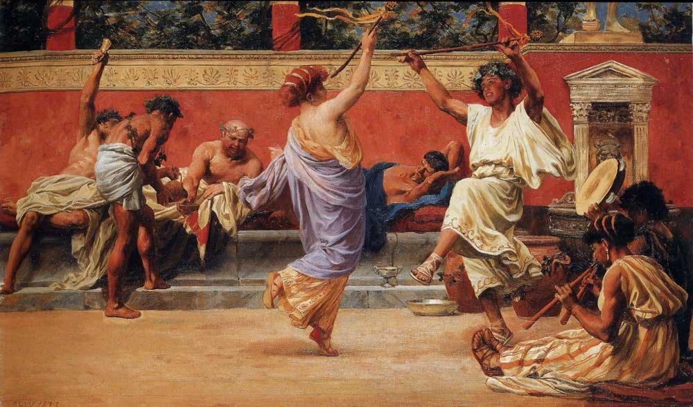 Когда встречали новый год в древние римляне