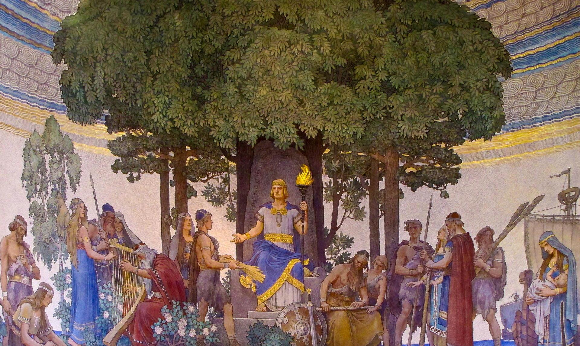 Хеймдаль — страж Радужного моста