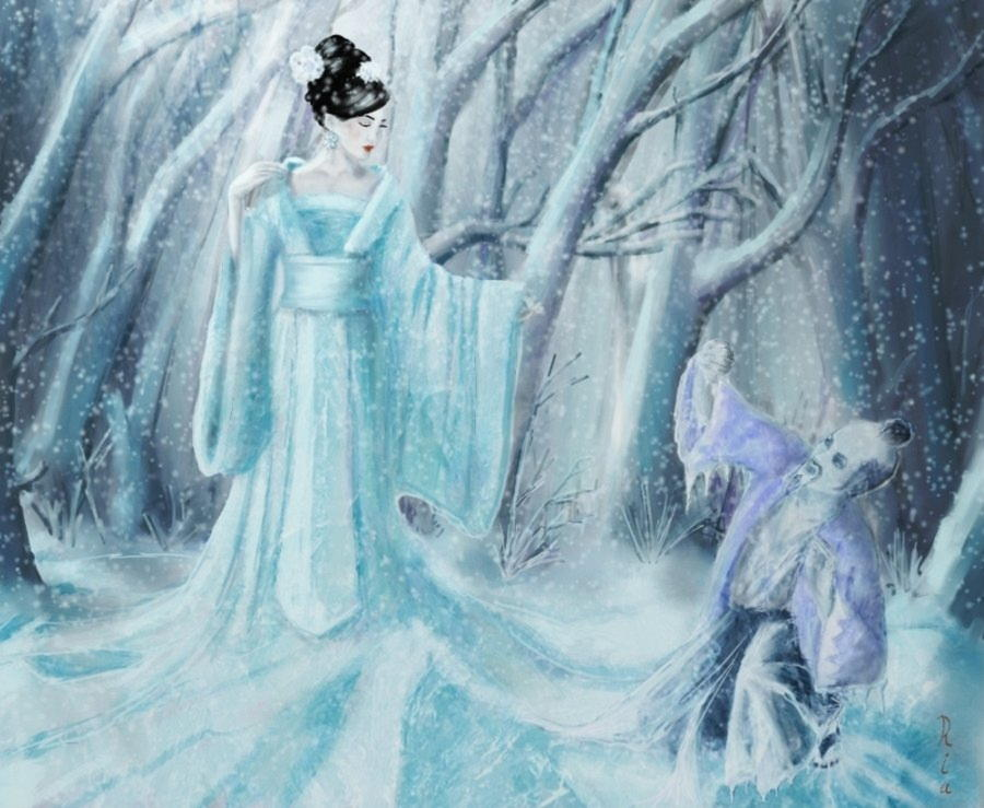 yuki_onna_as_ice_queen_by_reginanegra