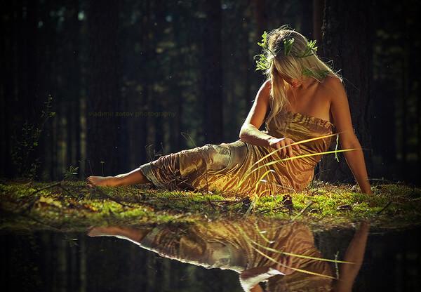 Агуане — прекрасные существа итальянской мифологии